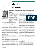 Standards Antenatal Care