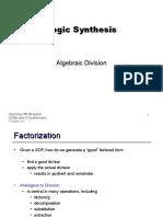 012 Algebraic Division
