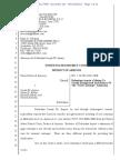 USA v ARPAIO #102 Arpaio Motion to Clarify Re Civil Contempt Admission