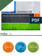 11.4 Generator Fungsi (Nanda P)