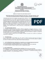 Edital n 33 2017 Docente Rede e Tec Brasil