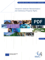 Interaction Between Standardisation and Intellectual Property Rights - Eur21074en