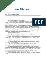Ambrose Bierce - Ochii Panterei 10 &.doc