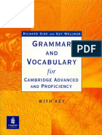 Vocabulary Advanced CAE