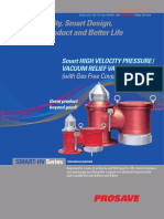PROSAVE Smart High Velocity Press-Vacuum Relief Valve