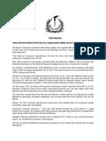 Press Release 14032016