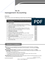 F5-02 Developments in Management Accounting