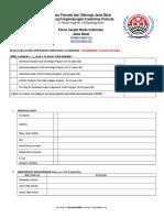 Application Form PPAN 2017