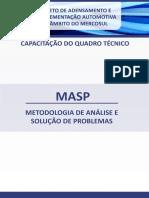 MASP. Metodologia de Análise e Solução de Problemas