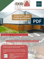 Cranwood Industries Timber Cladding Presentation