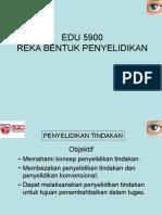 Kuliah 7 - Penyelidikan Tindakan