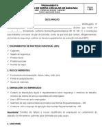 Op. de Serra Circular - Treinamento