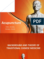 Acupuncture - Clinical Practice, Particular Techniques and