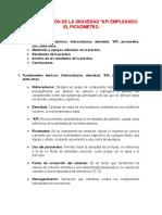 Determinación de La Gravedad API Mediante El Picnometro