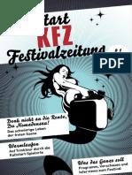 KFZ - Kaltstart-Festivalzeitung / # 01 / 1. Jahrgang