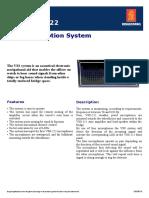 Kongsberg Sound Reception System