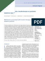Metformina y Dm1