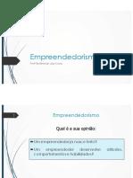 AULA 1 - Empreendedorismo