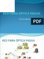 RED FIBRA ÓPTICA PASIVA