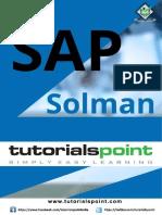 Sap Solman Tutorial