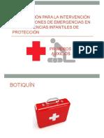 Botiquín en Situaciones de Emergencia