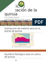 Nutrición Quinua y Sus Efectos Resistencia a Plagas