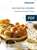 Recetas Pan Panasonic