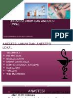 Anestesi Umum Dan Lokal