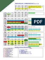Calendario e Semana de Provas - 1o Sem 2017 Versao 07-02-2017