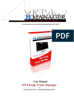 MT4 ScalpTrade Manager V3 User Manual