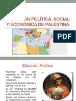 Situación Política, Social y Económica de Palestina