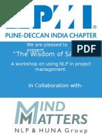 Wisdom of Sages- PMI Pune 24 & 25 Dec 2016(1)