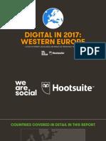 Digital in 2017 Western Europe