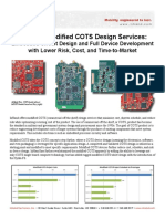 InHand's Modified COTS Design Services