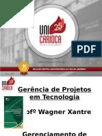 Unidade 2- Gerenciamento de Integração, Escopo, Tempo, Custos e Qualidade Do Projeto