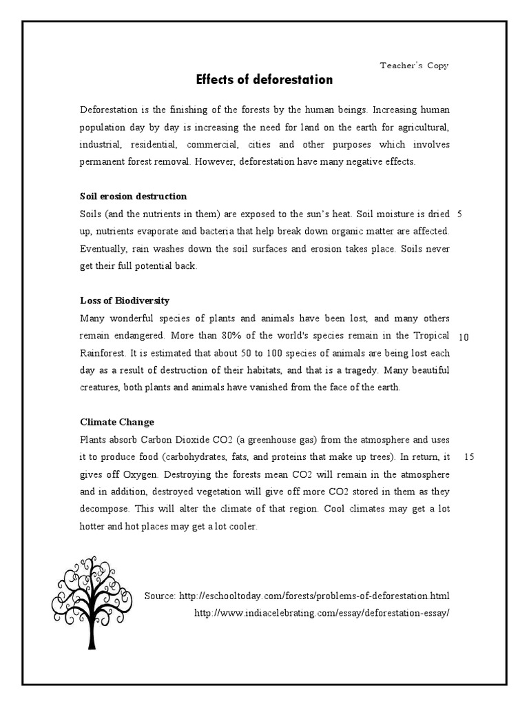 Example Of An English Essay  Persuasive Essay Examples For High School also Science Essays Topics Essay Essay On Deforestation In Sanskrit Language With  Essay Proposal Sample