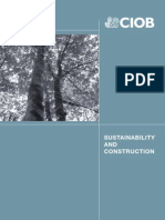 Sustainability in Construction [ CIOB pdf]