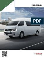 Ficha Tecnica 2017 Toyota Hiace