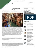 30 Fakta Tentang Kota Venesia Di Italia – Setangkai