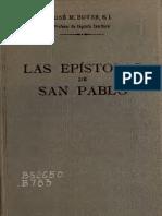 Las Epístolas de San Pablo