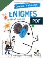 Énigmes, Défis Et Casse-tête Gallimard Pince
