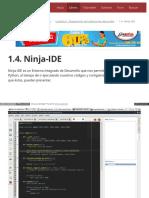 1.4. Ninja-IDE