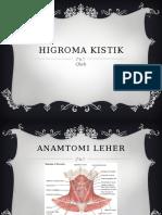 Higroma Kistik