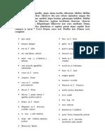 Analisis Primera Declinacion Latin