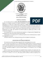 Sala Constitucional ordena revisar política exterior y define límites de la inmunidad parlamentaria