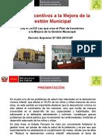 (1) Incentivos Municipal