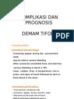 Komplikasi Dan Prognosis Demam Tifoid