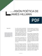 La Vision Poetica de Hillman