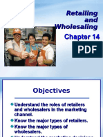 Chapter 6 Wholesaling and Retailing 2