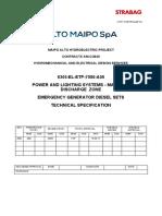 6305 EL ETP 7080 A00 Emergency Diesel Generator